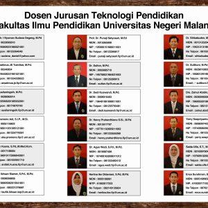 daftar nama dosen